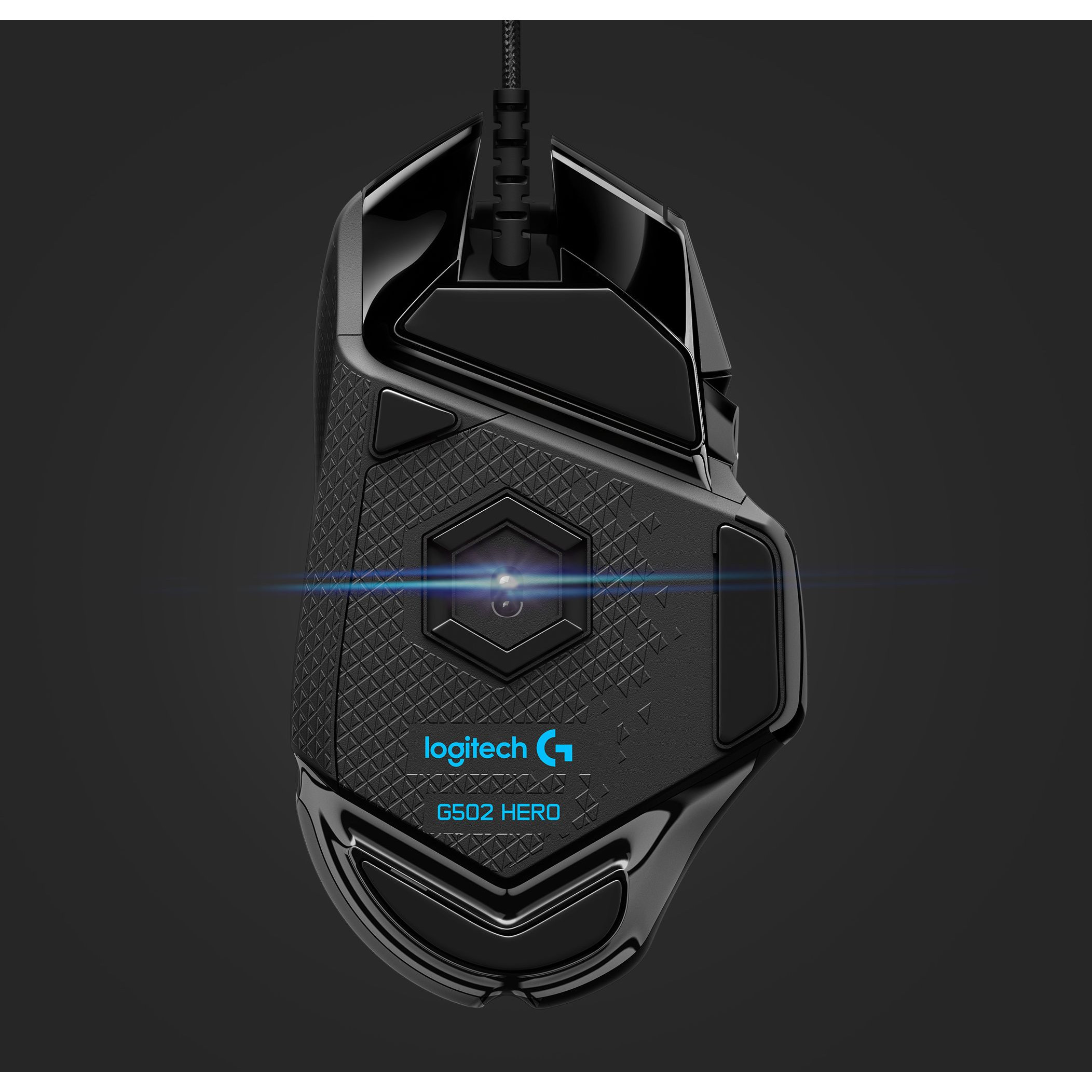 6e9599453a0 Logitech G502 HERO High Performance Gaming Mouse - 910-005469