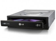 LG 24X GH24NSC0 SATA internal DVD-RW without software Black
