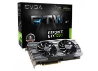 eVGA GTX1080 08G-P4-6284-KR GTX 1080 FTW 1.61GHz/1.73GHz Boost 8GB DDR5 GAMING ACX3.0 256B PCIE3.0 DVID HDMI VR Ready Gaming Video Card