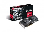 Asus RX 580 DUAL-RX580-O8G RX 580 8GB GDDR5 OC 256Bit DP HDMI DVI VR Ready Gaming Video Card
