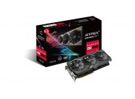ASUS ROG Strix Radeon RX 580 O8G Gaming 1360/1380 MHz OC Edition GDDR5 Aura HDMI ROG-STRIX-RX580-O8G-GAMING VR Ready Gaming Video Card