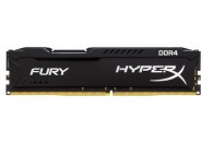 Kingston HyperX Fury Black 8GB DDR4 HX424C15FB2/8 8 GB DDR4 2400MHz / PC4 19200 - CL15 - 1.2V Unbuffered Desktop Memory