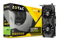 Zotac GTX1080Ti AMP! ZT-P10810D-10P GTX 1080 Ti 1569 / 1683 MHz Boost 11GB GDDR5X 352B PCIE DP HDMI VR Gaming Video Card