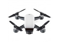 DJI Spark Portable Mini Drone Quadcopter Starters Bundle - Alpine White CP.PT.000731