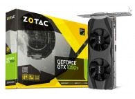 Zotac GTX1050Ti ZT-P10510E-10L GEFORCE GTX 1050 TI 4GB GDDR5 128B DP HDMI DL-DVI Low-Profile VR Ready Gaming Video Card