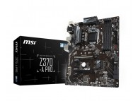 MSI Z370-A PRO ATX Intel Z370 64GB DDR4 (Max) PCIE SATA LAN, USB Type C, M.2, LGA 1151 Coffee Lake Motherboard