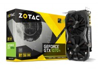 ZOTAC GeForce GTX 1070 Ti Mini GTX1070Ti GPU-8GB GDDR5: 1607MHz VR Ready Gaming Video Card ZT-P10710G-10P