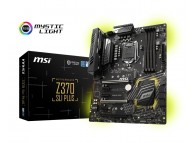 MSI Z370 SLI PLUS ATX Intel Z370 64GB DDR4 (Max) PCIE SATA LAN Coffee Lake / Gaming Motherboard