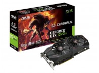 Asus CERBERUS-GTX1070TI-A8G-GA 8GB Geforce GTX 1070 Ti HDMI2.0 DP1.4 DVI-D GTX 1070 Ti A8G VR Ready Mining / Gaming Video Card