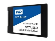 "Western Digital WD 500GB BLUE SSD SATA III 6Gb/s 2.5"" 7mm Blue 3D NAND 560 MB/s READ / 530 MB/s WRITE WDS500G2B0A internal Solid State Drive"