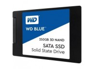 "WD 250GB BLUE SATA III 6Gb/s 2.5"" 7mm 525 MB/s READ, 550 MB/s WRITE 3D NAND WDS250G2B0A internal Solid State Drive"