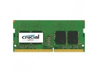Crucial 8GB - DDR4 SDRAM - 2400 MHz DDR4-2400/PC4-19200 - 1.20 V - Non-ECC - Unbuffered - 260-pin - SoDIMM CT8G4SFS824A