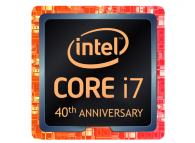 INTEL i7 8086K 8th Gen 40th Anniversary Edition 6 cores, Up to 5.0GHz, 95W, 12M Cache Boxed BX80684I78086K CPU