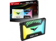"Team Group T-FORCE DELTA 500GB 2.5"" 500 GB SATA III Internal RGB Solid State Drive (SSD) T253TR500G3C313"
