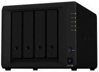 Synology NAS DS918+ 4 bay DiskStation (Diskless) Celeron 1.5GHz - 4GB DDR3L RAM - 2x RJ45 Gigabit - Network Attached Storage