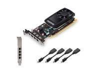 PNY nVidia Quadro P620 2GB GDDR5 VCQP620-PB 512 Cores 128B PCIe mini DisplayPort Low Profile Video Card