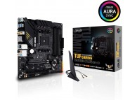 ASUS TUF B550M-PLUS Wi-Fi AMD AM4 B550 128GB max Displayport / HDMI mATX Gaming Motherboard